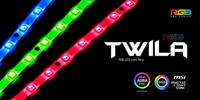 Лента Reeven Twila RGB состоит из 21 светодиода