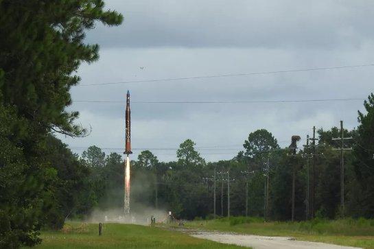 Space startup Vector запустит небольшие ракеты на орбиту из Вирджинии в следующем году