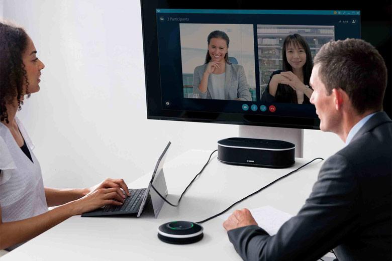 Спикерфон Yamaha YVC-1000MS сертифицирован для Skype for Business