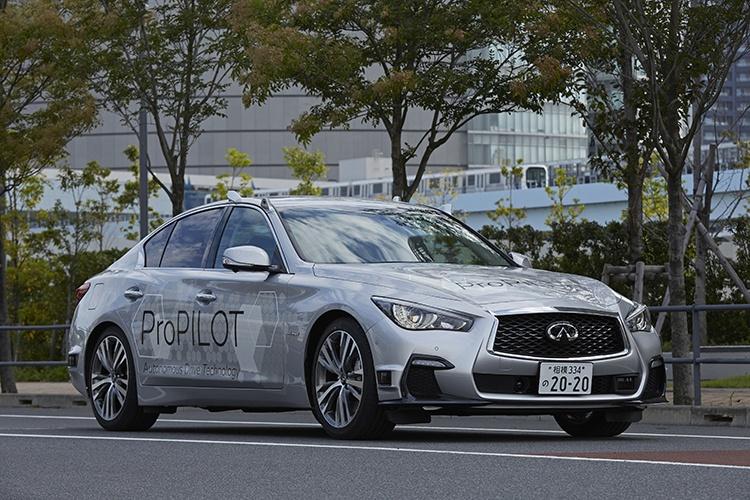 Nissan испытала полностью беспилотную машину
