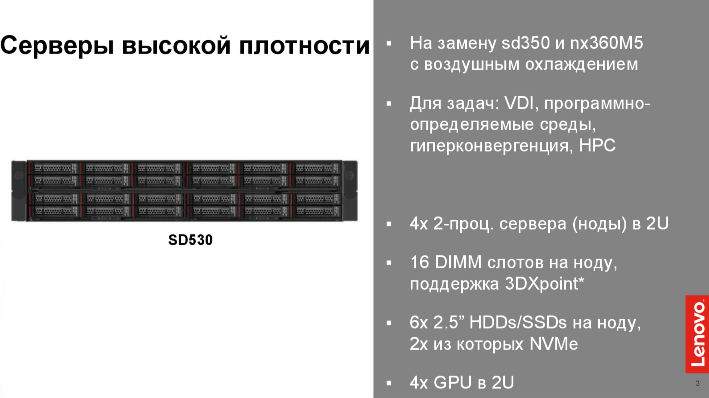 Решения Lenovo для дата-центров. Часть 2 - 12