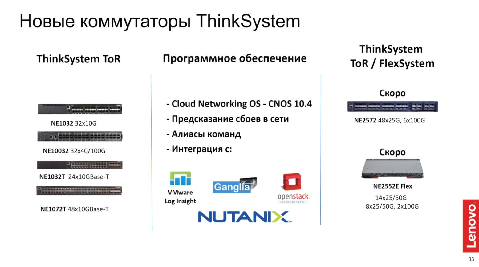 Решения Lenovo для дата-центров. Часть 2 - 8