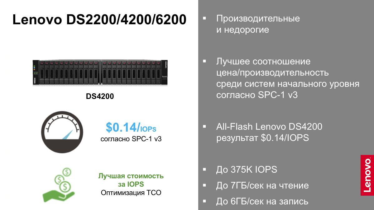 Решения Lenovo для дата-центров. Часть 2 - 9