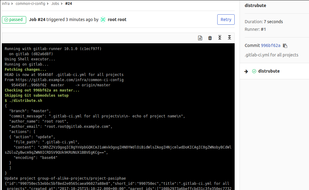 Сборка проектов с GitLab CI: один .gitlab-ci.yml для сотни приложений - 7