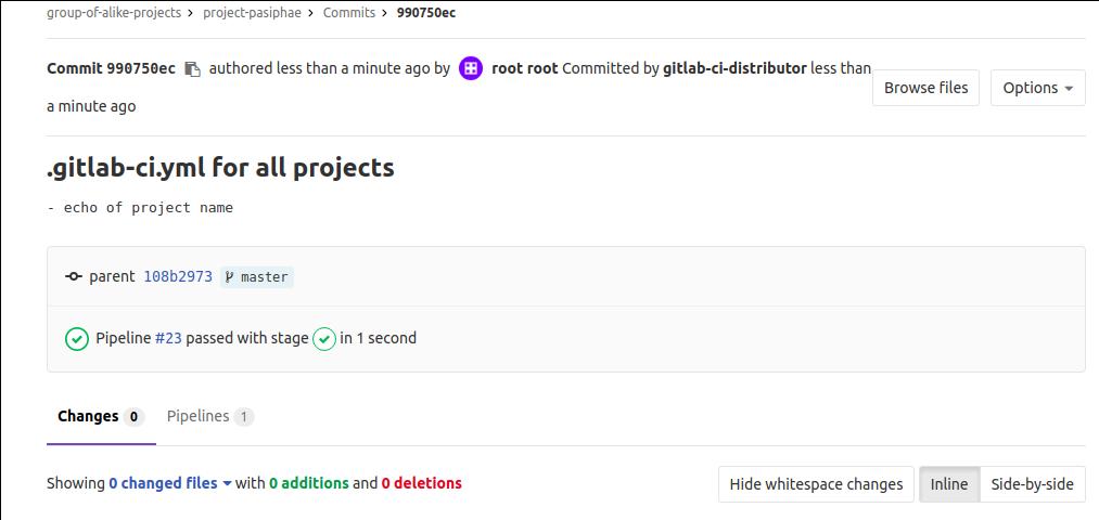 Сборка проектов с GitLab CI: один .gitlab-ci.yml для сотни приложений - 8