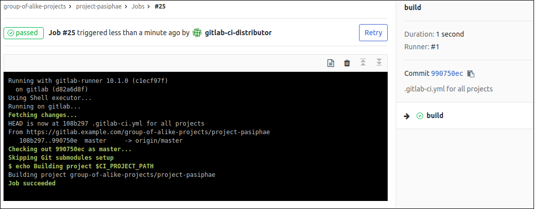Сборка проектов с GitLab CI: один .gitlab-ci.yml для сотни приложений - 9