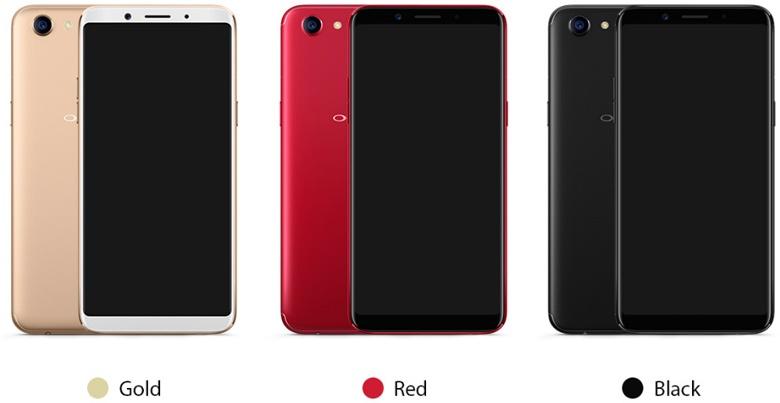 Это первый смартфон Oppo с экраном с соотношением сторон 18:9