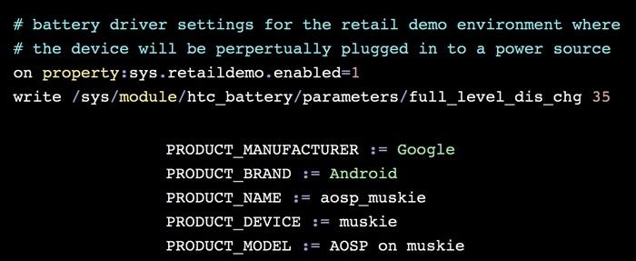 Упоминание смартфона Google Pixel XL 2 Muskie снова появилось в Сети