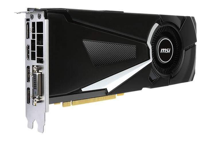 MSI представила пятёрку карт GTX 1070 Ti