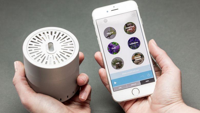Цифровые ароматы: запись, восстановление и передача запахов - 1