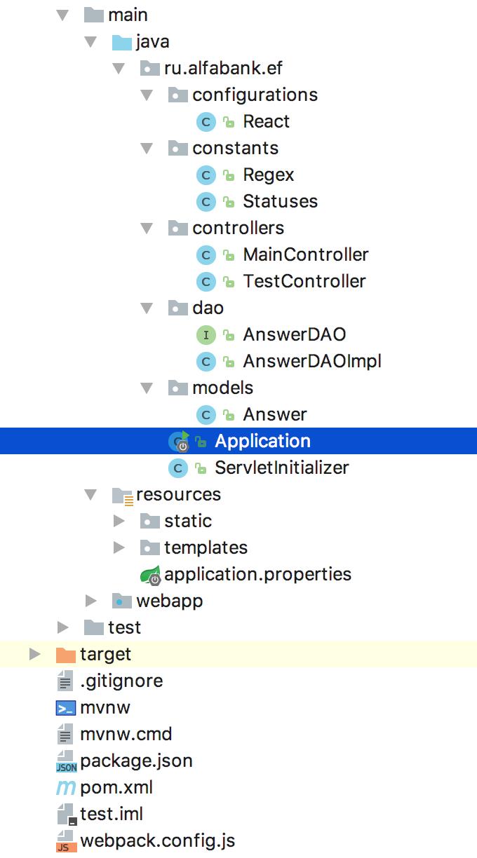 Изоморфное приложение React JS + Spring Boot - 4