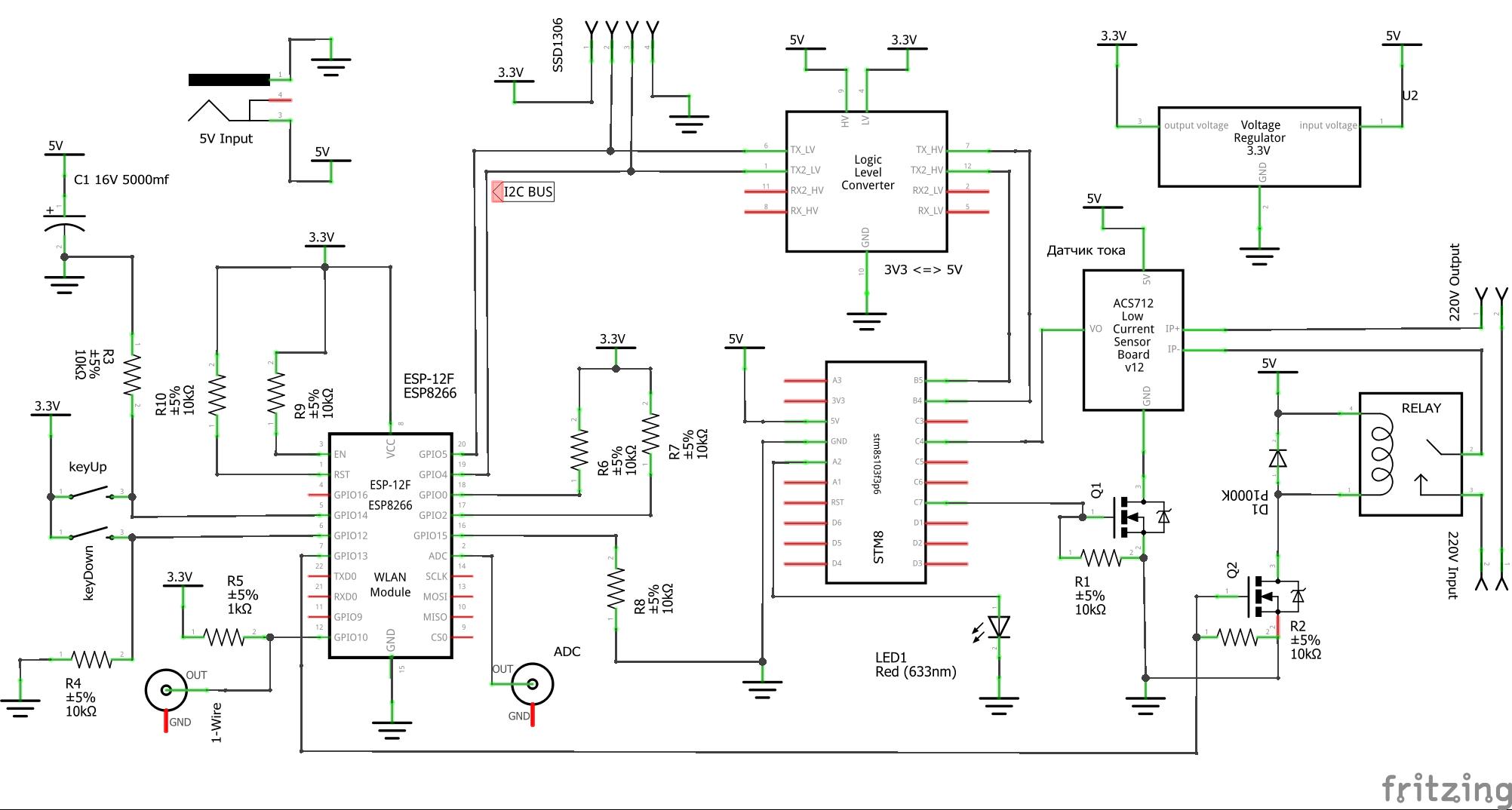 Как заварить чай по MQTT или доступная умная розетка с контролем температуры и тока - 17