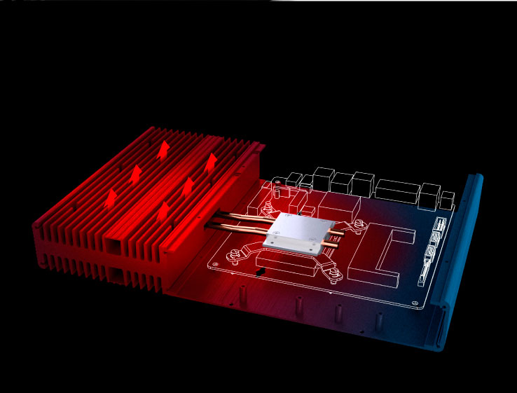 Корпус Akasa Galileo ST способен охладить процессор в исполнении LGA115x с TDP до 35 Вт