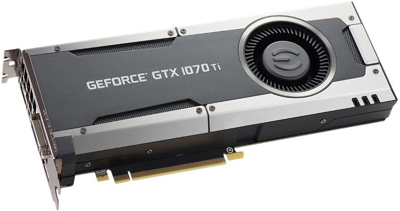 EVGA GeForce GTX 1070 Ti (08G-P4-5670-KR)