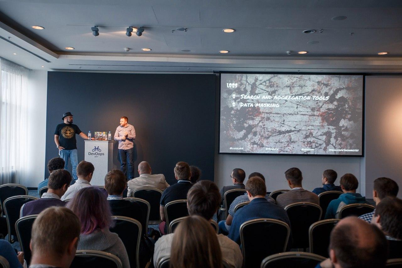 Первый деплой: как прошла конференция DevOops 2017 - 5