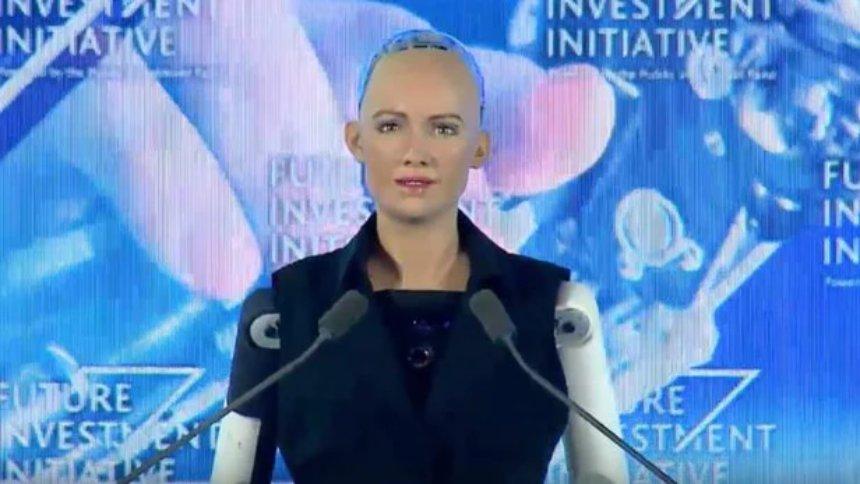 Робот Sophia получил гражданство
