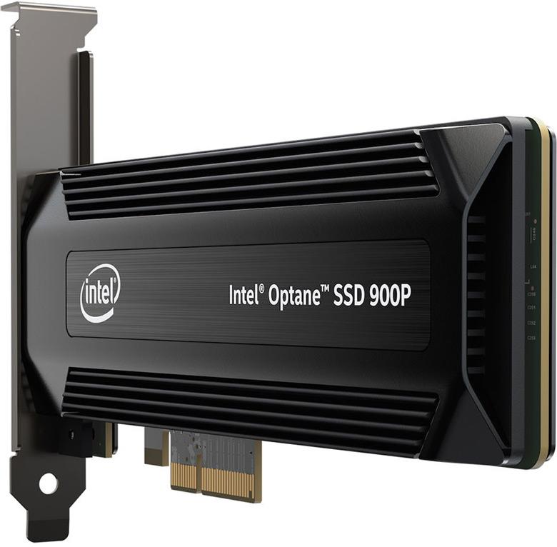 Накопители Intel Optane SSD 900P выпускаются объемом 280 и 480 ГБ