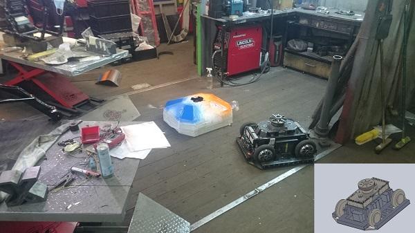 Битва роботов 2017 в Сочи. Как мы построили робота за 7 дней (на самом деле нет) - 7