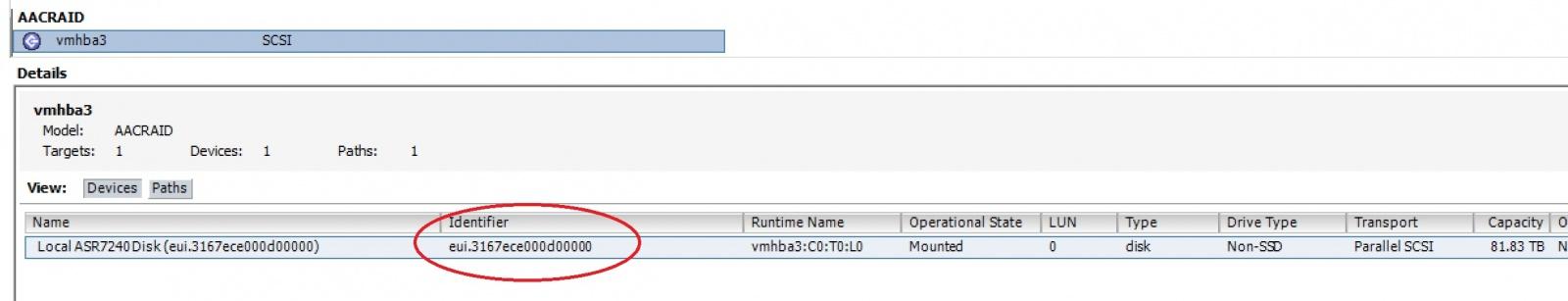 Как создать несколько VMFS датасторов на одном дисковом устройстве - 1