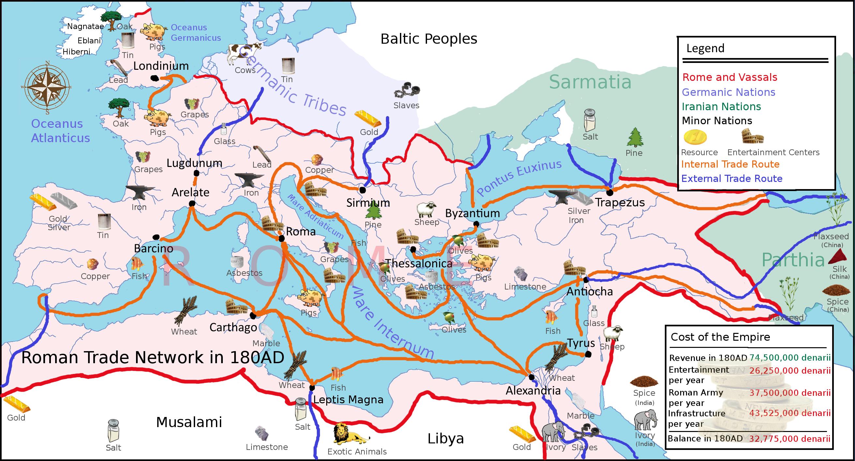В Римской империи ВВП на душу населения был меньше, чем в любой современной стране - 2