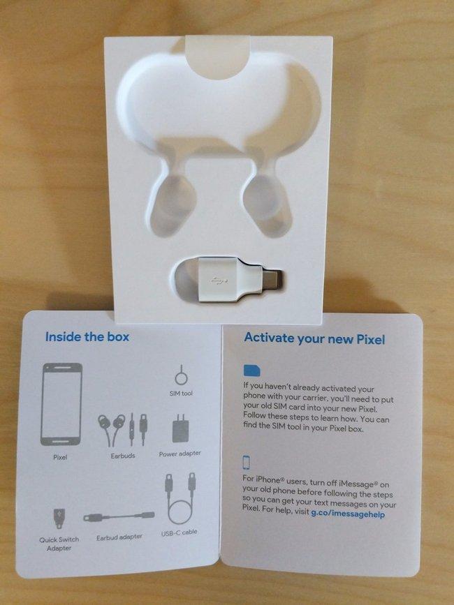 Смартфоны Google Pixel 2 и Pixel 2 XL должны были получить проводную гарнитуру с разъемом USB-C