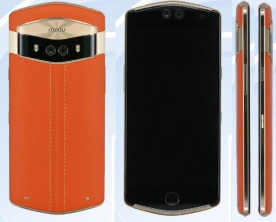 Смартфон Meitu V6 получил нестандартный, но традиционный для производителя корпус и четыре камеры