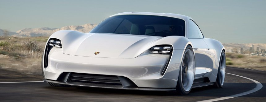 В сети появились снимки нового Porsche Mission E