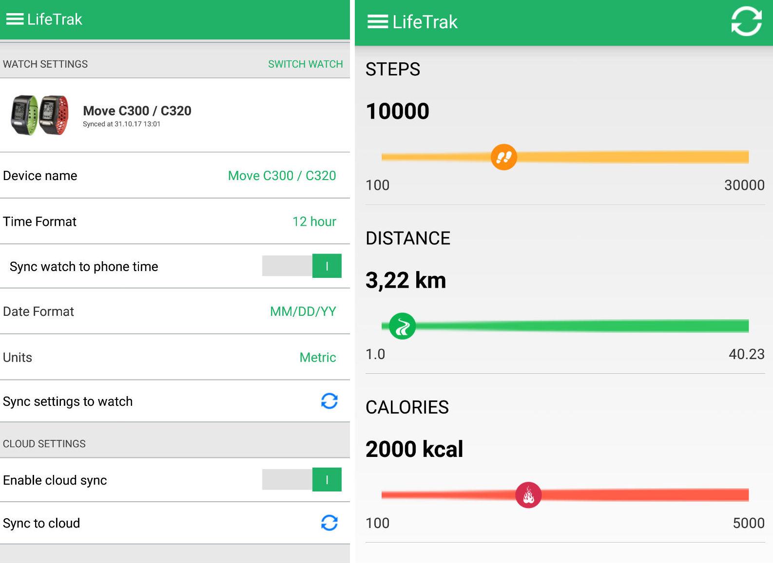 Когда не нужен постоянный пульс — Lifetrak C400 - 5