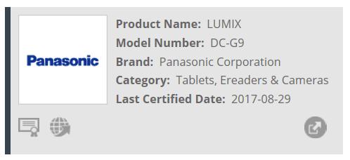 Анонс Panasonic Lumix DC-G9 ожидается в ближайшие недели