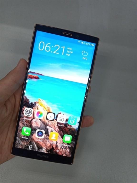 Опубликованы «живые» фотографии смартфона Gionee M7 Plus