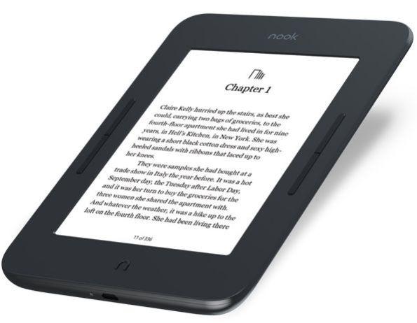 Barnes & Noble представила электронную книгу Nook GlowLight 3