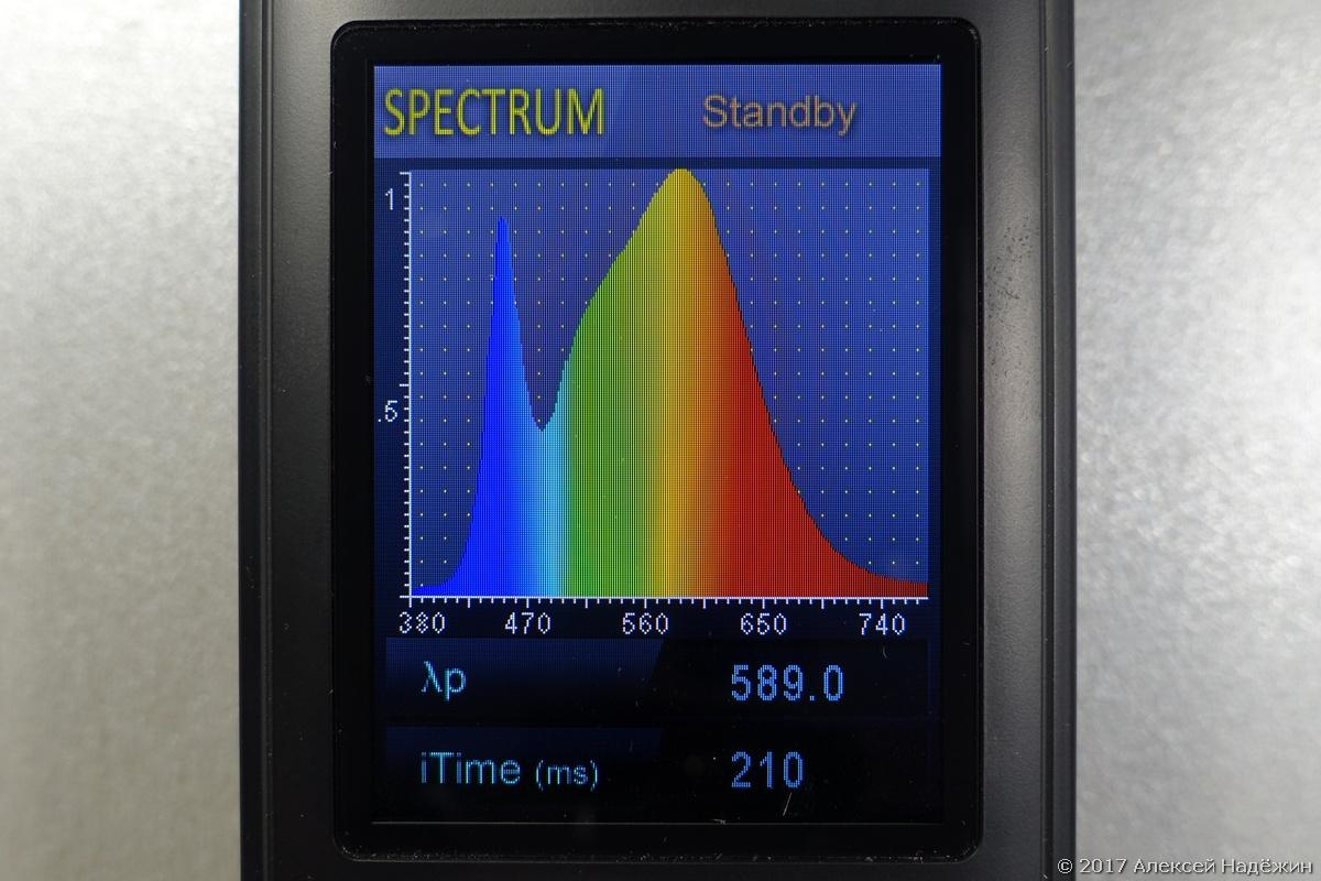 Бюджетный спектрометр-пульсметр Uprtek MF250N - 13