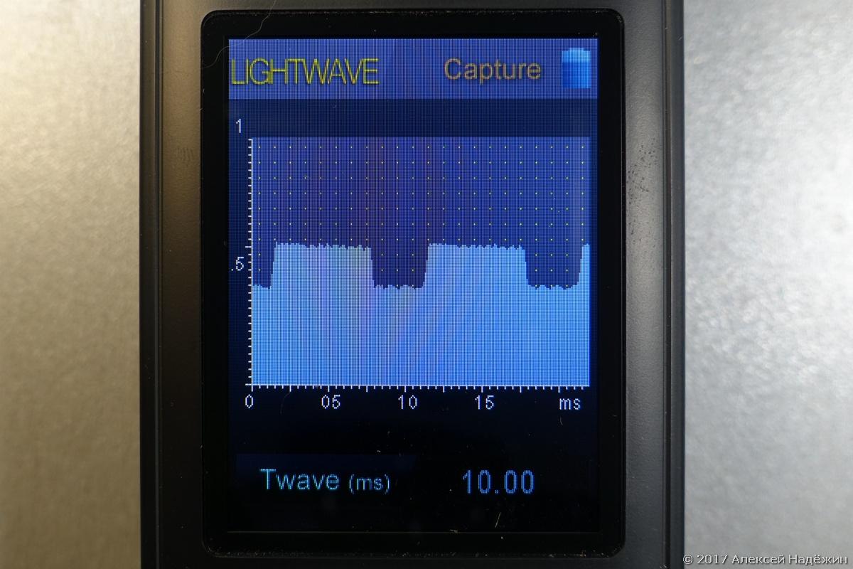 Бюджетный спектрометр-пульсметр Uprtek MF250N - 18