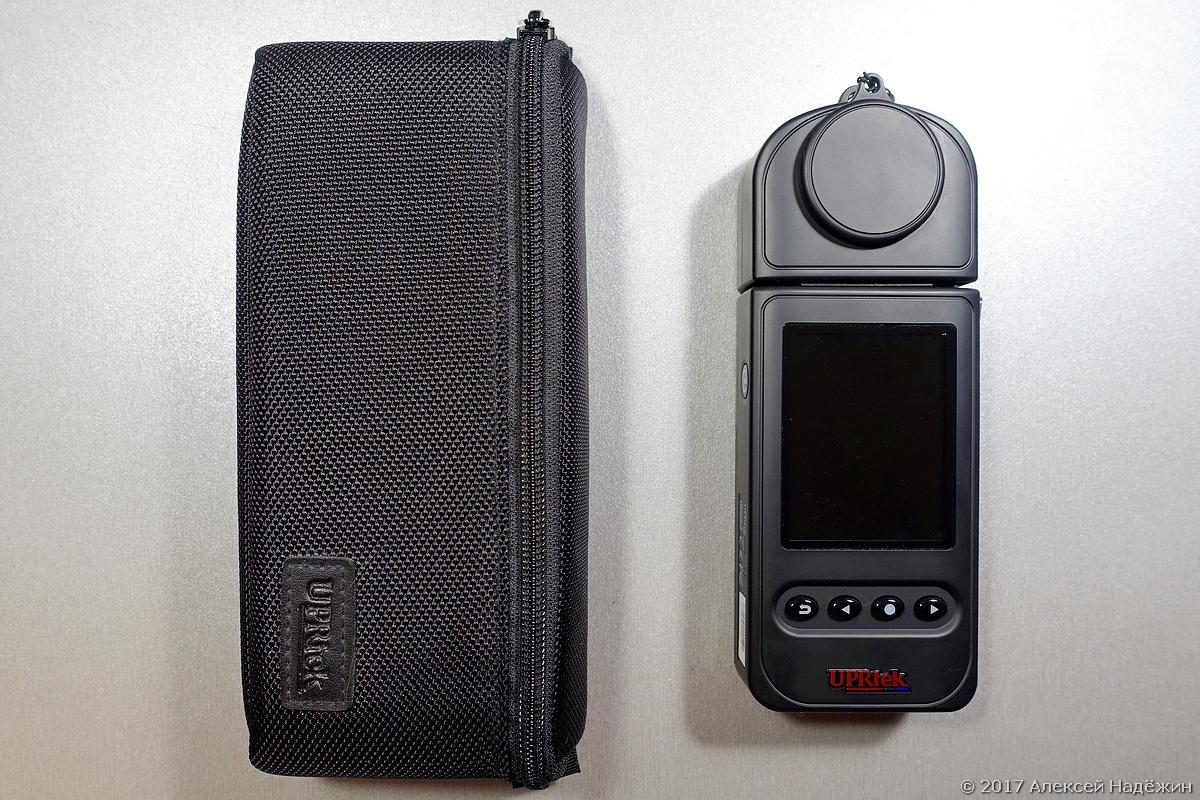 Бюджетный спектрометр-пульсметр Uprtek MF250N - 2