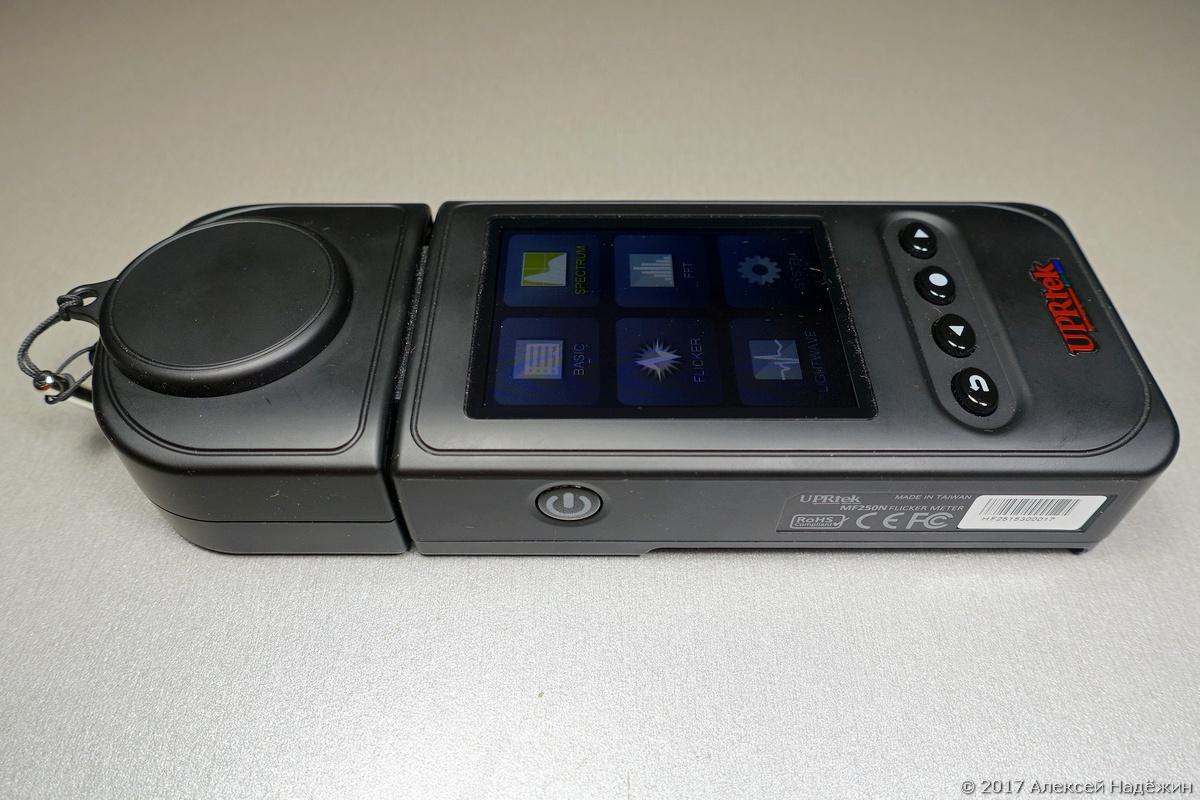 Бюджетный спектрометр-пульсметр Uprtek MF250N - 6