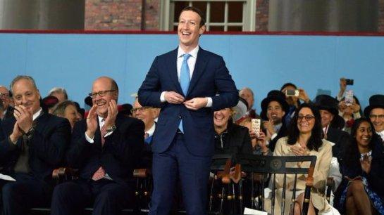 Доход от рекламы в Facebook превысил 10 млрд долларов