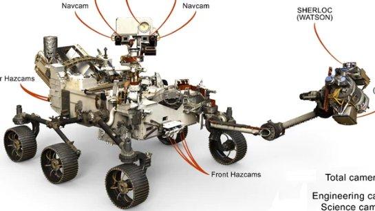 Mars 2020 Rover будет иметь рекордное количество камер
