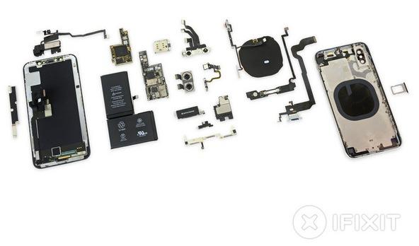 iPhone X заработал у iFixit шесть баллов