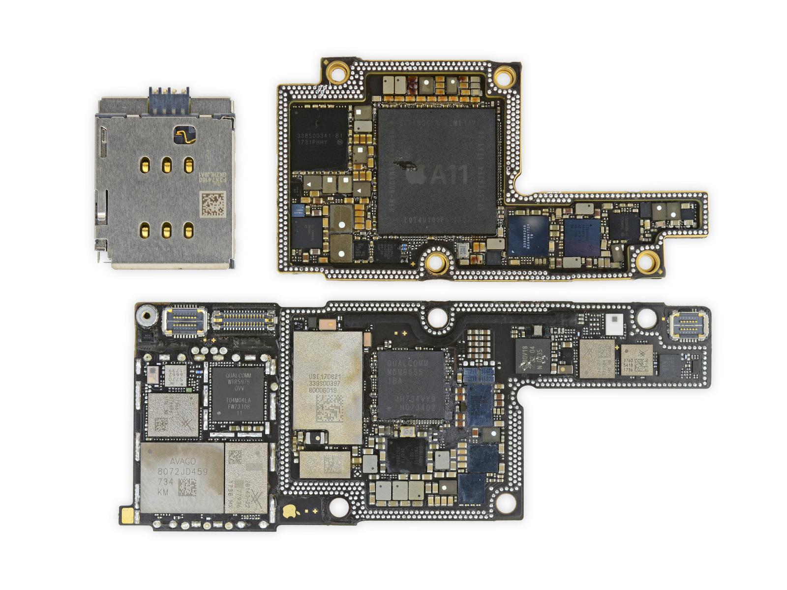 iPhone X получил 6 баллов от iFixit по шкале ремонтопригодности - 2
