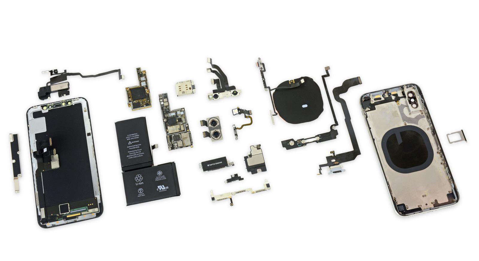 iPhone X получил 6 баллов от iFixit по шкале ремонтопригодности - 3