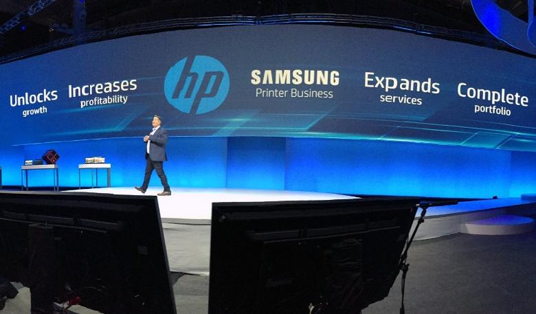 Компания HP завершила покупку подразделения Samsung, выпускающего принтеры