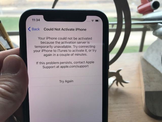 Некоторые пользователи iPhone X столкнулись с проблемами при активации смартфонов