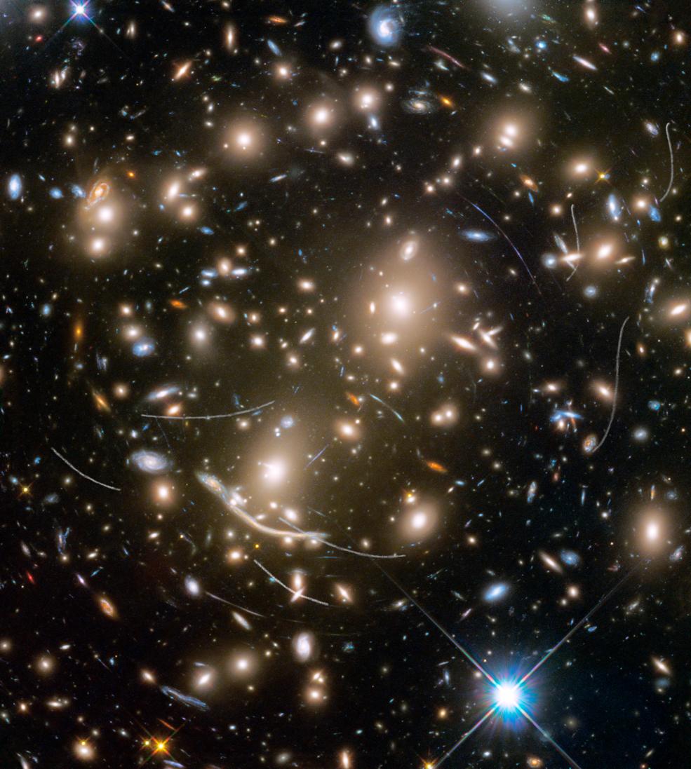 Несколько астероидов сделали «фотобомбу» для Hubble, помешав сфотографировать удаленные галактики - 2
