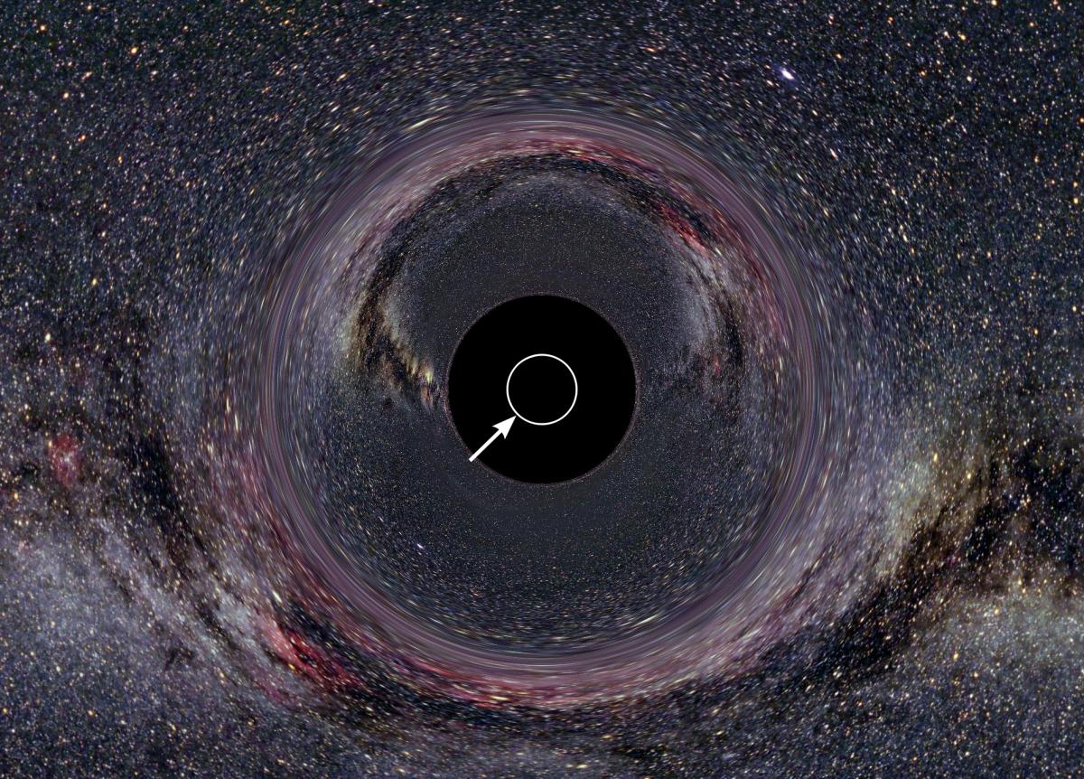 Никто не знает, куда девается информация из чёрных дыр - 4