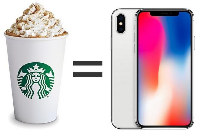 Тим Кук сравнил затраты на кофе со стоимостью iPhone X