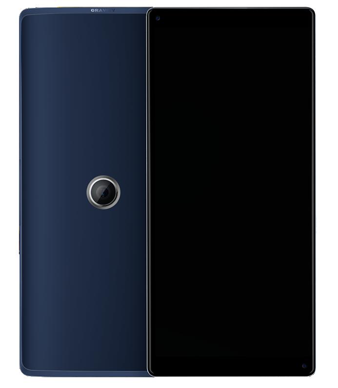 Представлен концептуальный смартфон Gravity