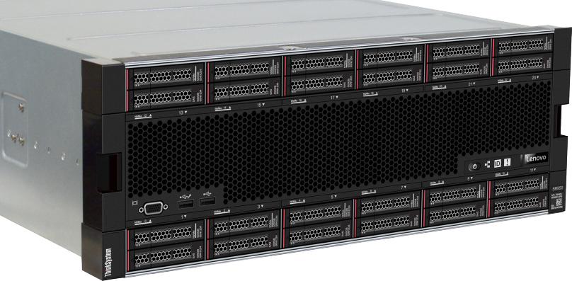 Обзор сервера Lenovo ThinkSystem SR950 - 1