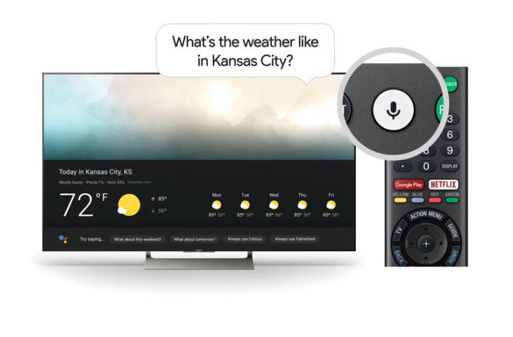 Google Assistant появился на телевизорах Sony