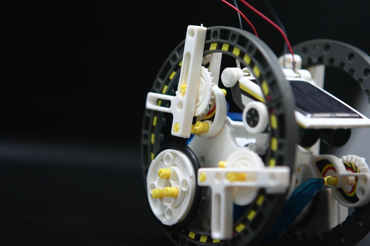Робот-конструктор 14 в 1. Мы наконец-то его собрали - 25