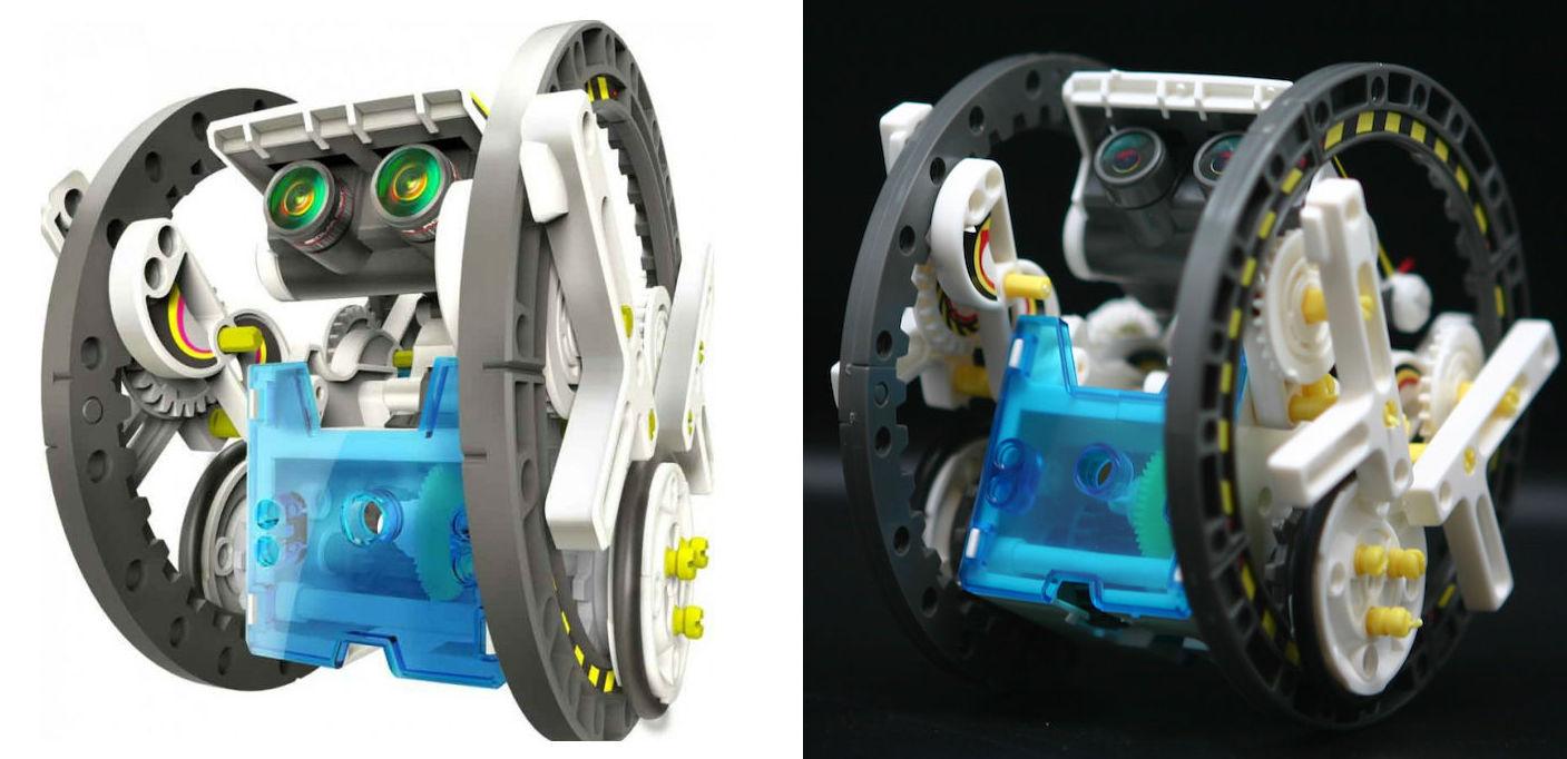 Робот-конструктор 14 в 1. Мы наконец-то его собрали - 33